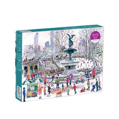 Bethesda Fountain 1000 Piece Puzzle
