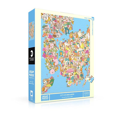 City of Dreamers 1000 Piece Puzzle