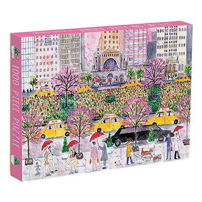 Spring on Park Avenue 1000-Piece Puzzle