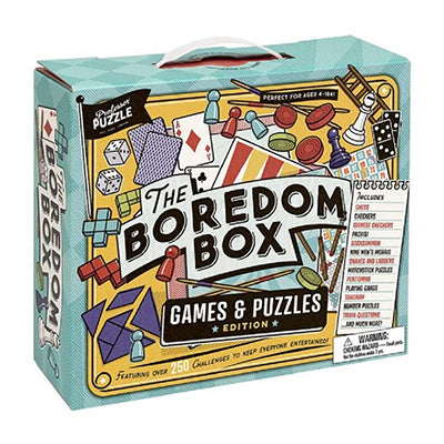 Boredom Box: Games and Puzzles Edition
