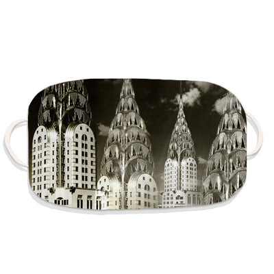Chrysler Building Montage Face Mask