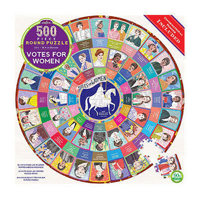 Votes for Women 500-Piece Round Puzzle