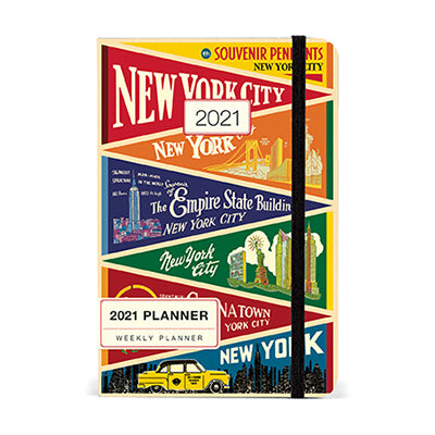 New York Weekly Planner 2021
