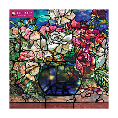 Louis C Tiffany Wall Calendar 2021