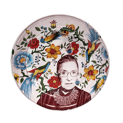 Ruth Bader Ginsburg Dinner Plate