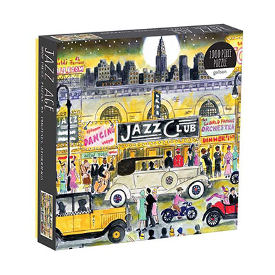 Jazz Club 1000-Piece Puzzle