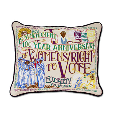 19th Amendment Pillow