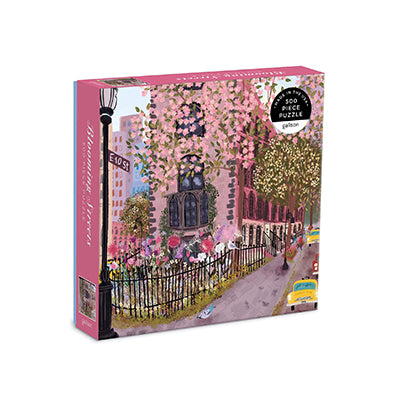 Blooming Streets 500-Piece Puzzle