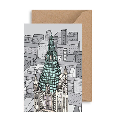 Woolworth Building NYC Notecard