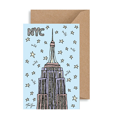 Empire State Building NYC Notecard