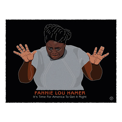 Fannie Lou Hamer Notecard
