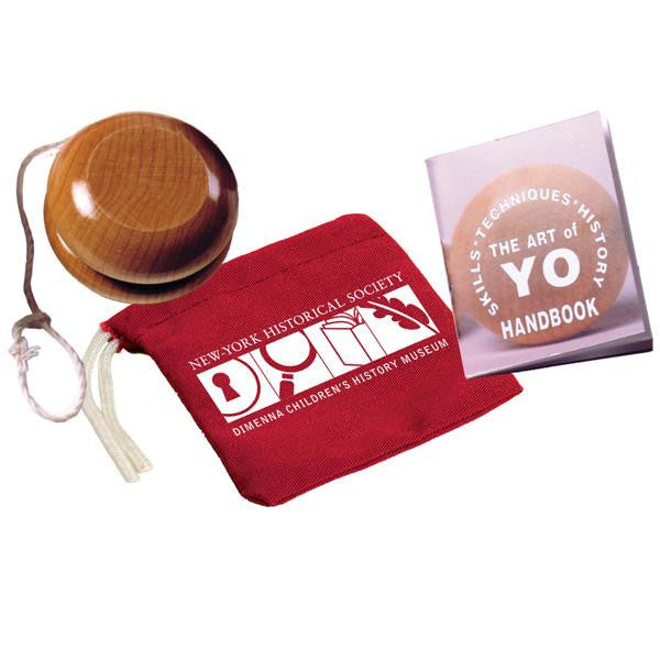 Yo-Yo with Colorful Canvas Pouch