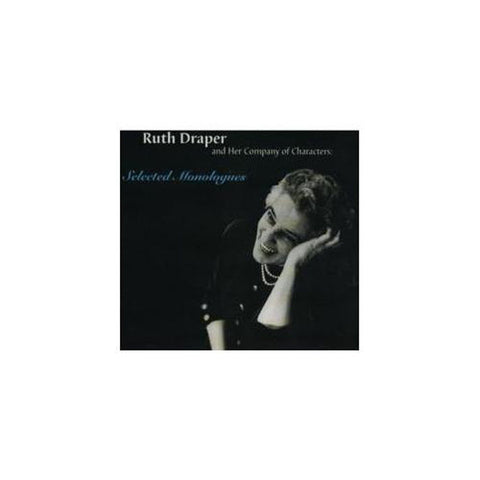 Ruth Draper: Selected Monologues CD