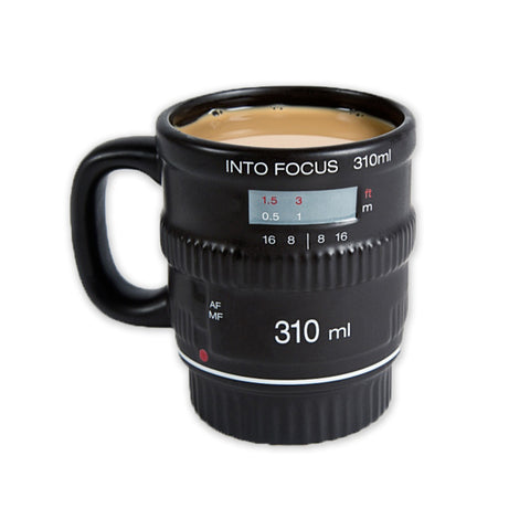 In Focus Camera Lens Mug