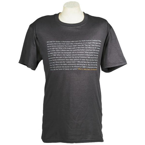 New-York Historical Society Questions T-Shirt
