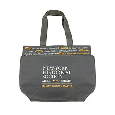 New-York Historical Society Questions Tote