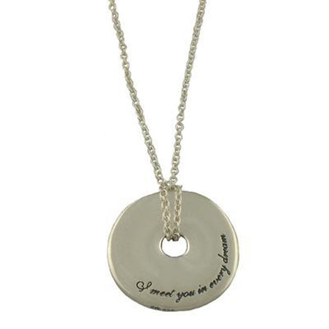 Romantic Alexander Hamilton Necklace