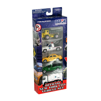 NYC Official Vehicles 5 Piece Set