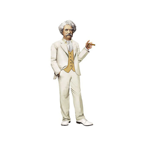 Mark Twain Die-cut Notecard