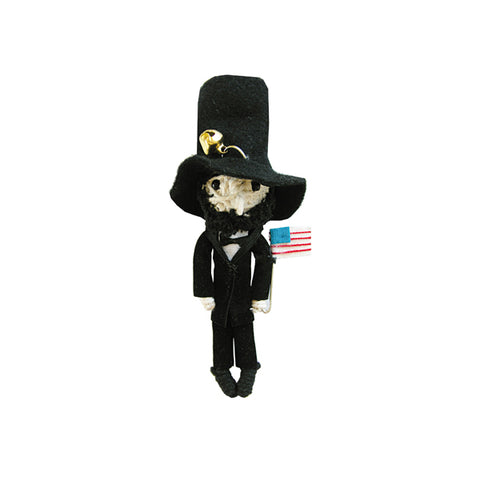 Honest Abe String Doll