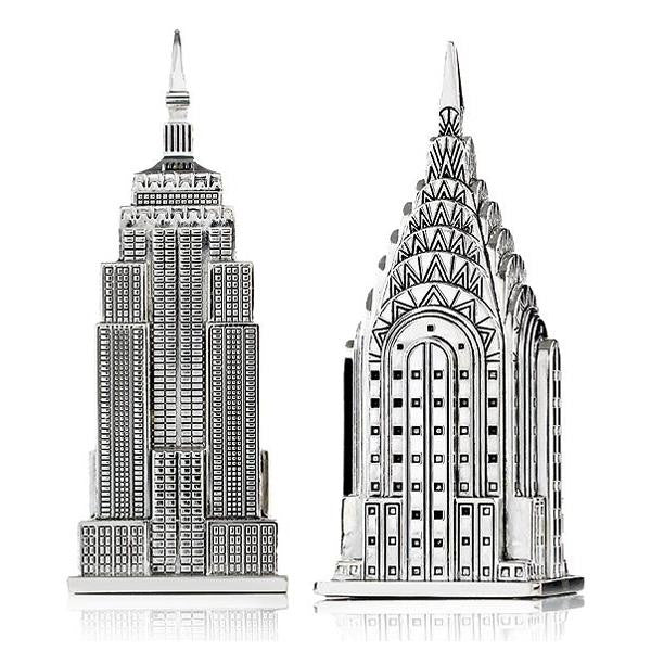 Skyscraper Salt & Pepper Set