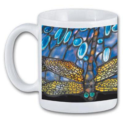 Louis C. Tiffany Dragonfly Mug