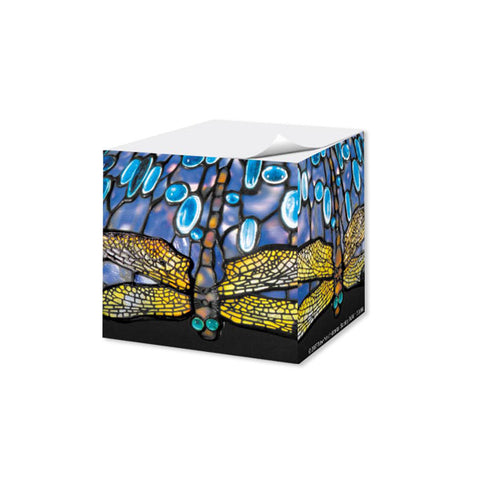 Louis C. Tiffany DragonFly Note Cube