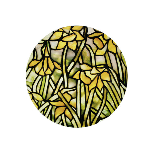 Louis C. Tiffany Daffodil Tin Plate