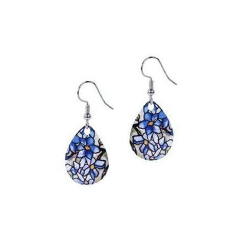 Louis C. Tiffany Clematis Earrings
