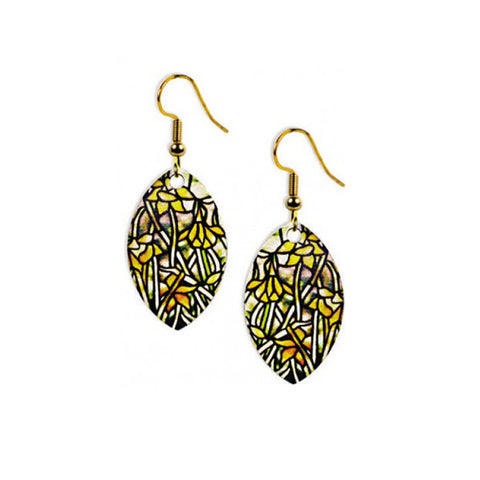 Louis C. Tiffany Daffodil Earrings
