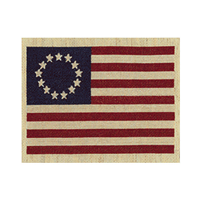 Early American Flag Cross-Stitch Kit