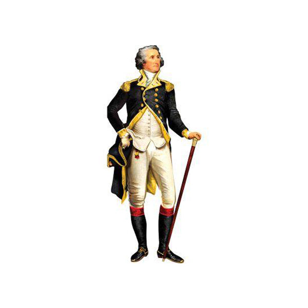 George Washington Die-Cut Notecard