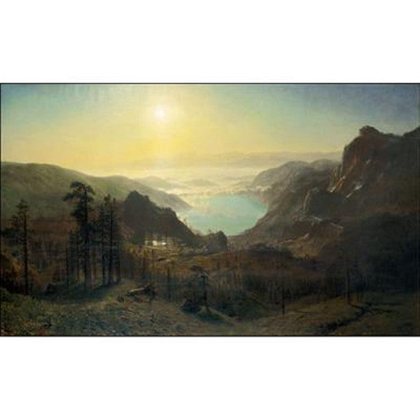 Donner Lake from the Summit Oppenheimer Print