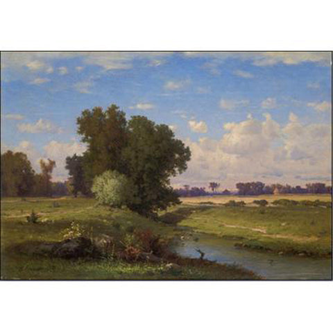 Hackensack Meadows, Sunset Oppenheimer Print
