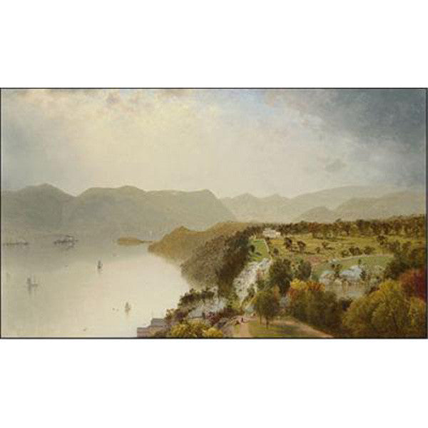 View of Cozzen's Hotel Near West Point, NY Oppenheimer Print