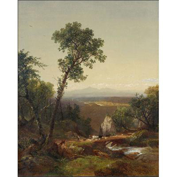 White Mountain Scenery Oppenheimer Print
