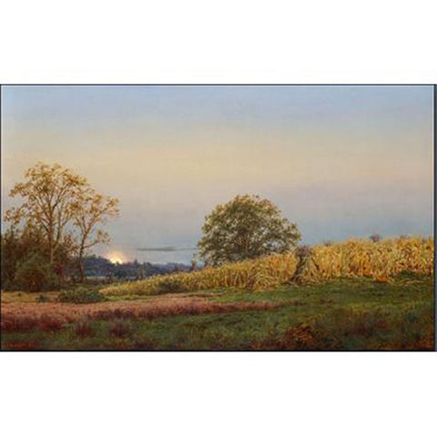 The Harvest Moon Oppenheimer Print