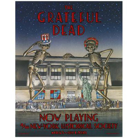The Grateful Dead Now Playing at N-YHS Poster
