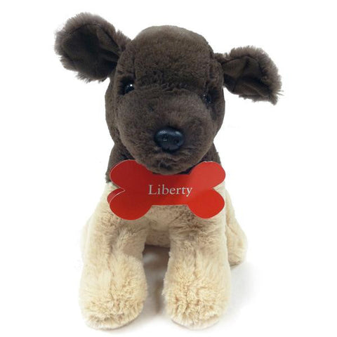 Liberty the Dog Plush