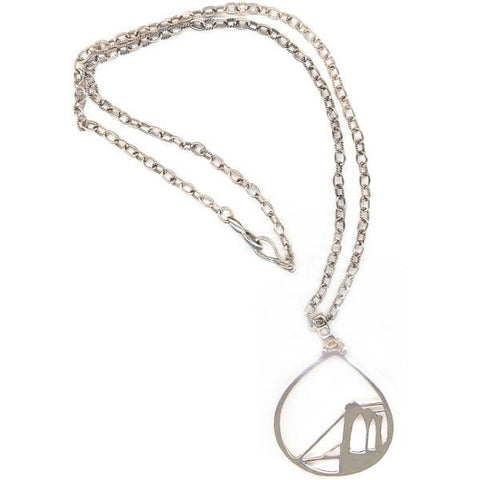 Brooklyn Bridge Sterling Silver Necklace