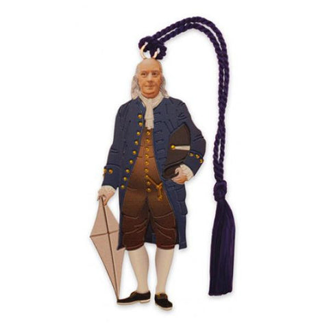 Benjamin Franklin Bookmark
