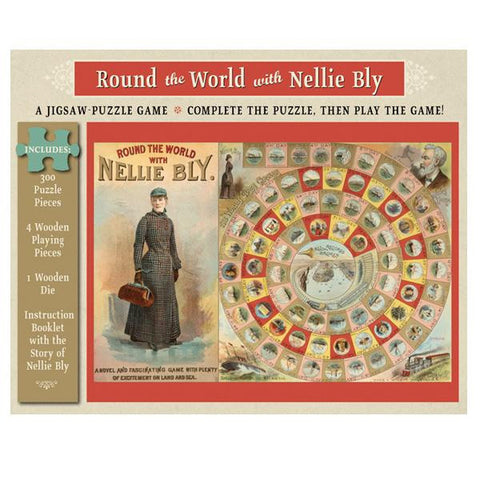 Nellie Bly Puzzle Game