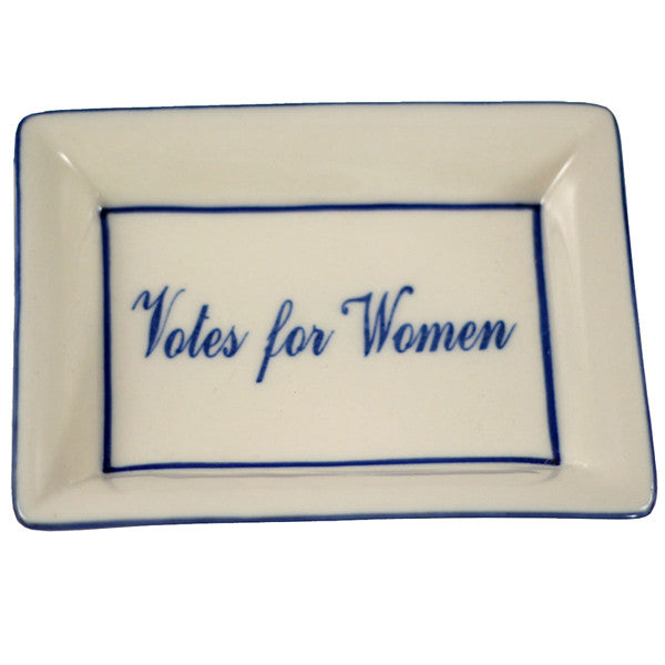 Votes for Women Plate