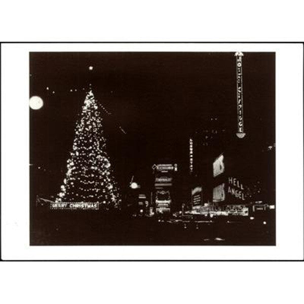 Christmas at Times Square, 1930 Note Cards