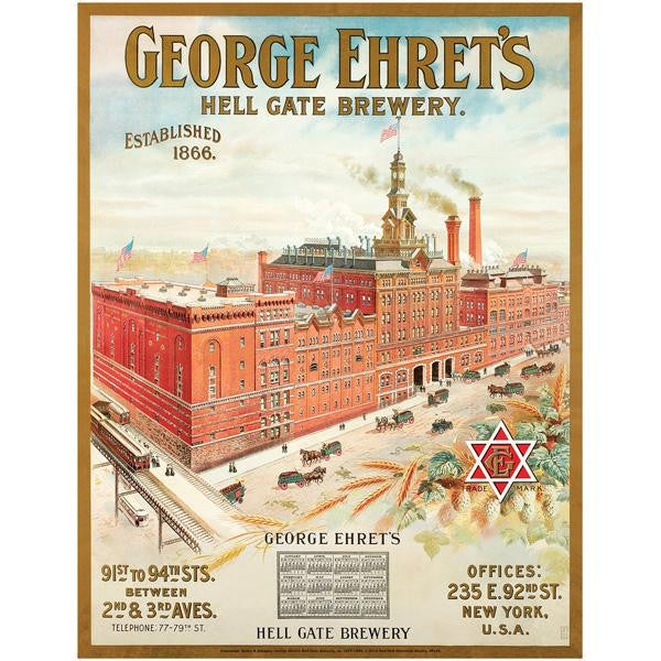 Hell Gate Brewery  Poster