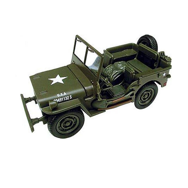 Jeep Willys Classic 1:32 Diecast Model