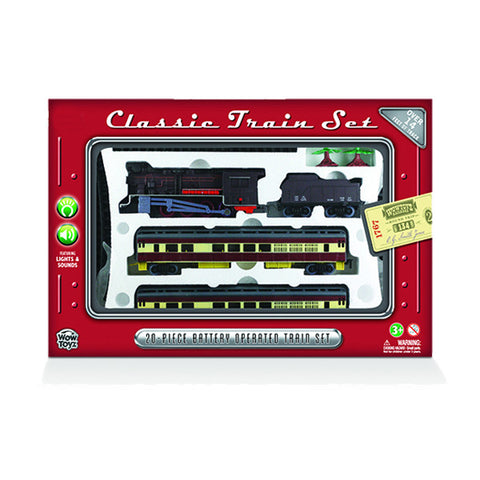 Deluxe 20-Piece Classic Train Set