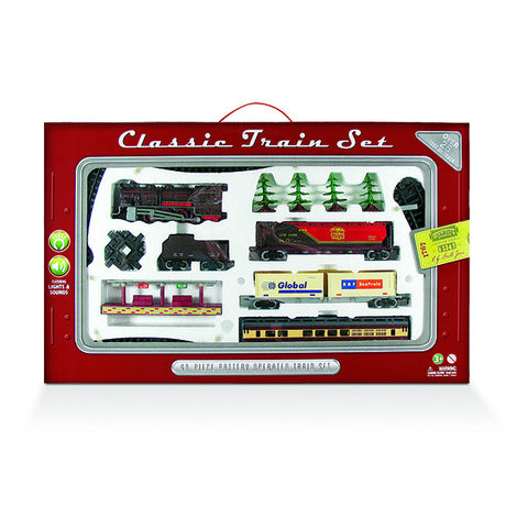 Deluxe 40-Piece Classic Train Set