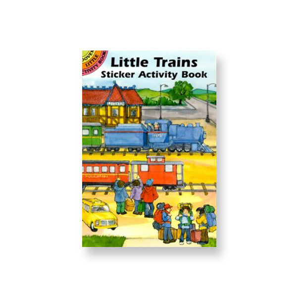 Little Train Activity Book