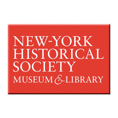 Red New-York Historical Society Magnet